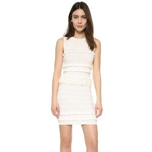 Endless Rose Off White Pom and Tassel Knit Dress